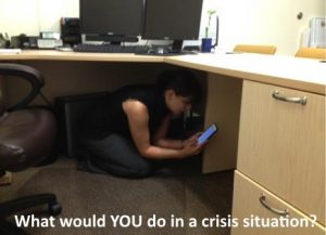 What would YOU do in a crisis situation?